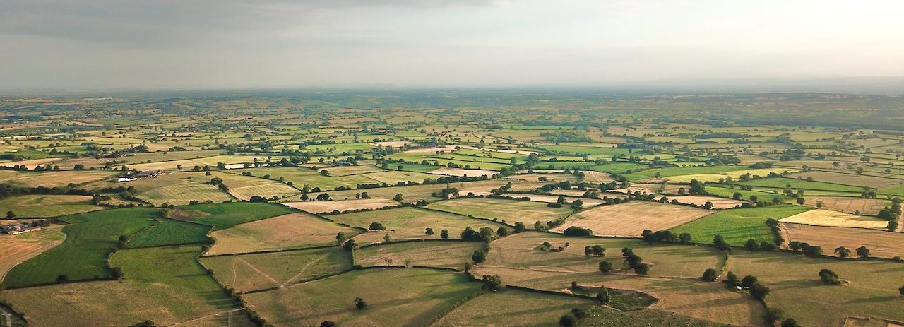 Aerial view of Chorley Cholmondeley