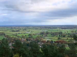 Chorley and Cholmondeley From Bulkeley Hill